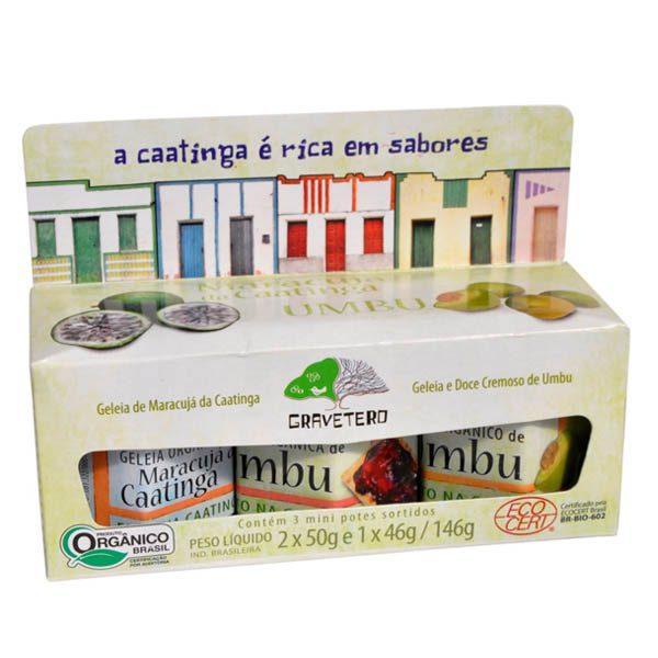 Kit Doces da Caatinga da Gravetero