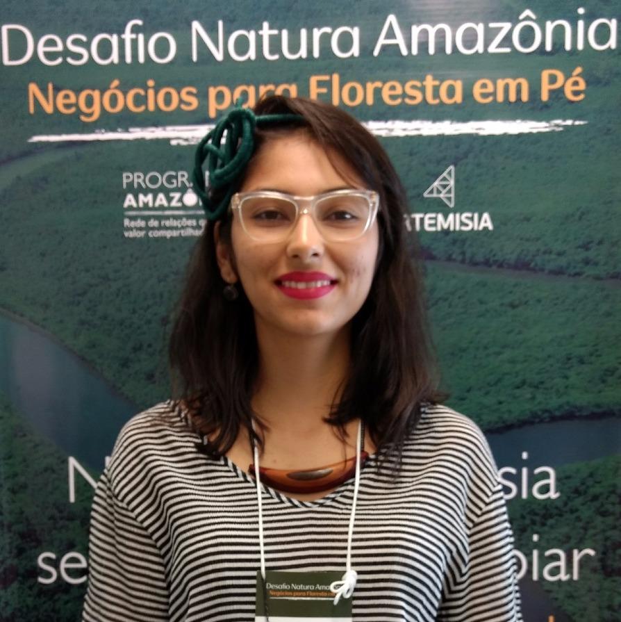 Kaline idealizadora da Amazônia Hub