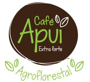 Logotipo Café Apui - Agroflorestal