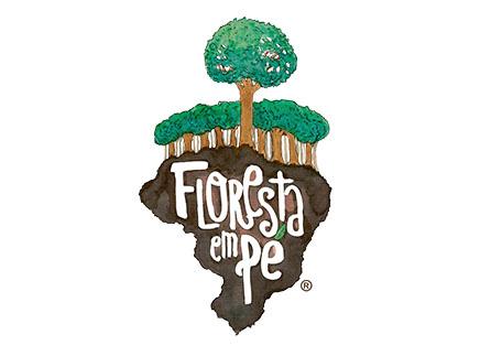Logotipo Floresta em Pé