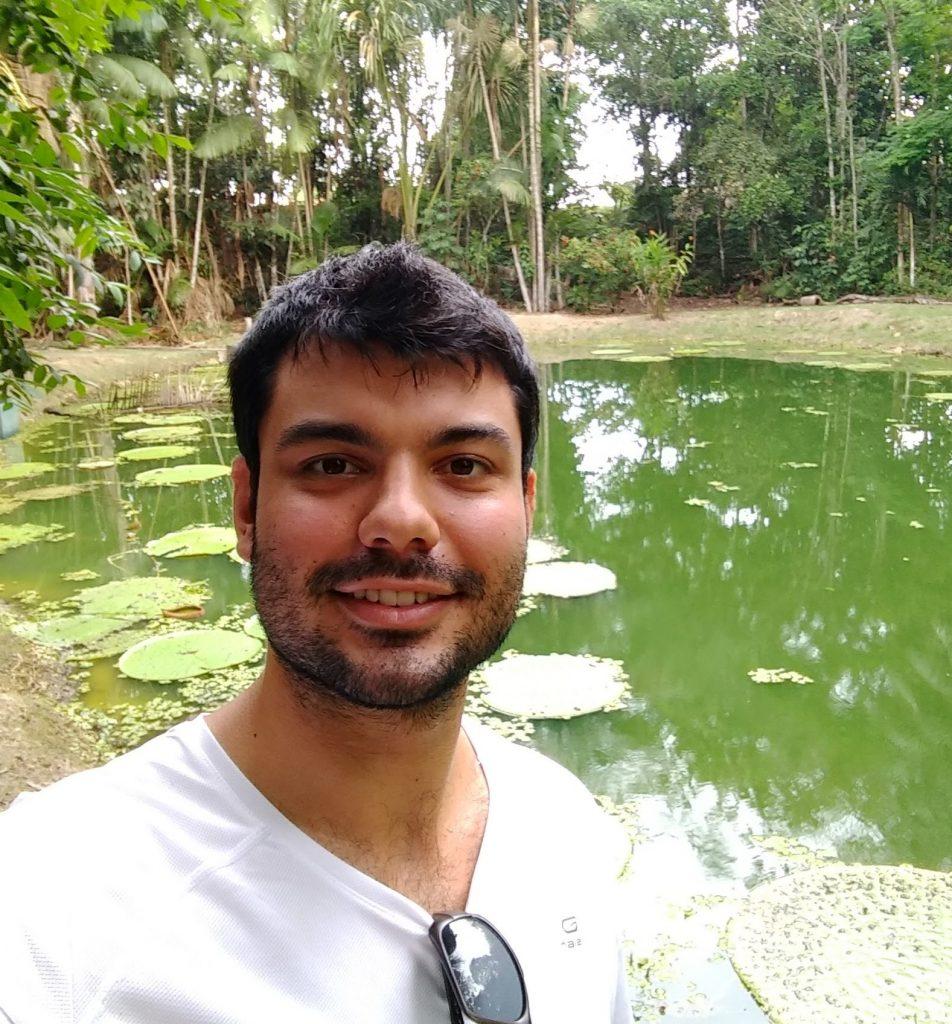 Matheus - idealizador da Amazônia Hub