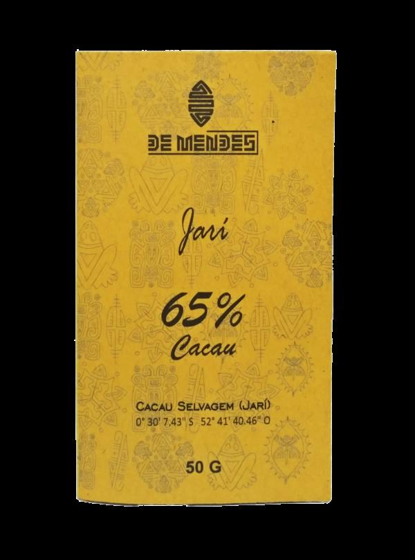 Chocolate ao leite de búfala 65% Cacau Selvagem Jari - De Mendes