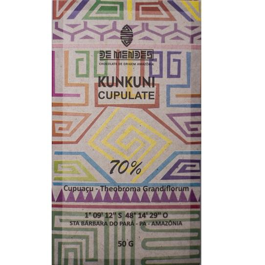 CUPULATE KUNKUNI - 70% CUPUACU - De Mendes