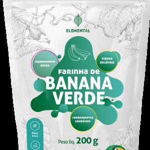 Farinha de Banana Verde 200g - TerrAmazonia