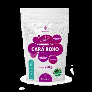 Farinha de Cará Roxo 200g - TerrAmazonia