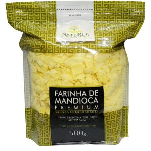 Farinha de Mandioca (Premium) 500g - Naturus