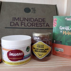 Produtos do Kit Imunidade da Floresta